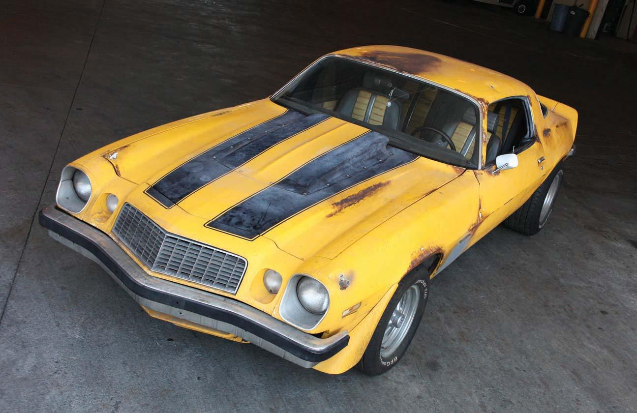 1977 chevy camaro bumblebee car from transformers - Images of bumblebee from transformers ...