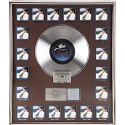 Michael Jackson multi-platinum sales award for Thriller