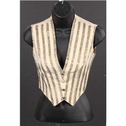 "Christina Aguilera striped vest from International Pepsi ""Anthem"" commercial"