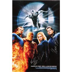 Fantastic Four: Rise of the Silver Surfer one-sheet poster