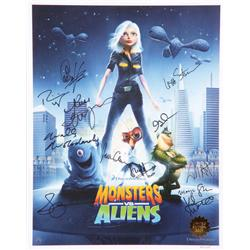Monsters vs. Alien Signed limited edition lithograph