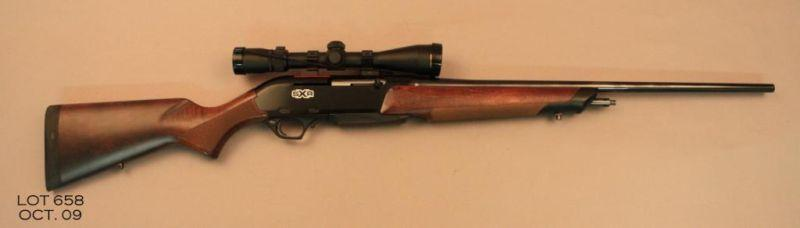 """Winchester SXR Super X semi-auto rifle,  270 WSM only cal , 25"""" round  barrel, black finish, checke"""