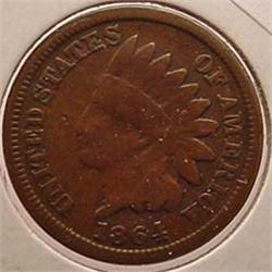 1864 INDIAN HEAD CENT / PENNY