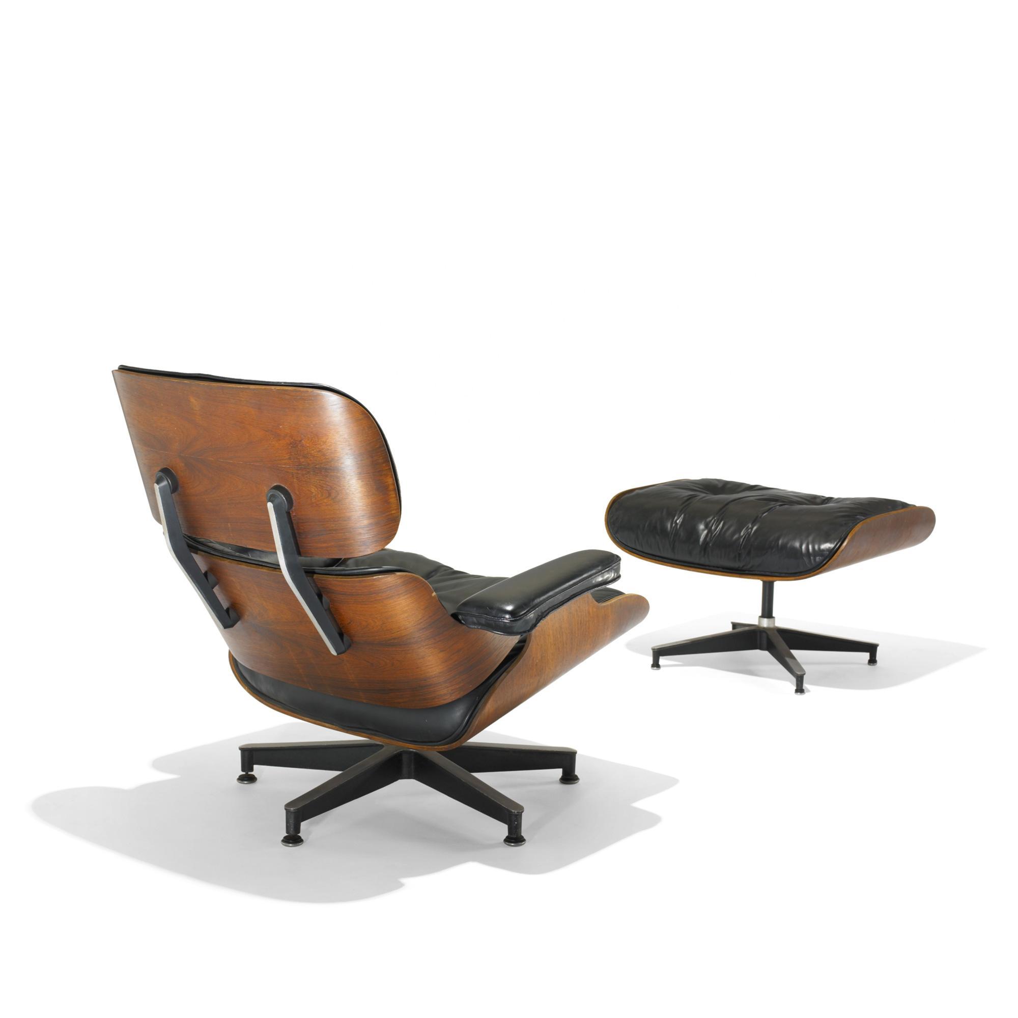 Incroyable Image 1 : Charles And Ray Eames 670 Lounge Chair And 671 Ottoman ...