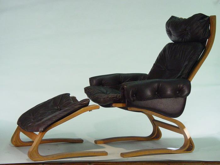 Fantastic Plycraft Lounge Chair With Ottoman Ibusinesslaw Wood Chair Design Ideas Ibusinesslaworg