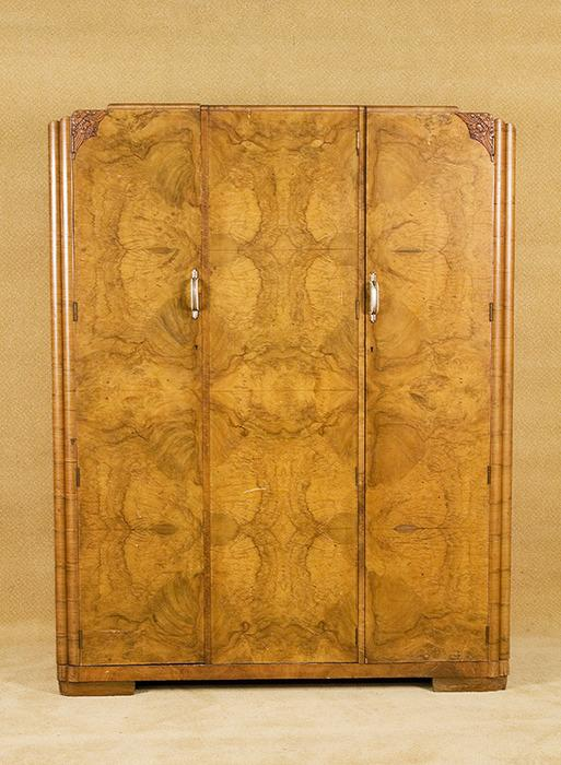 Vintage Acid Stained Art Deco Men S Wardrobe