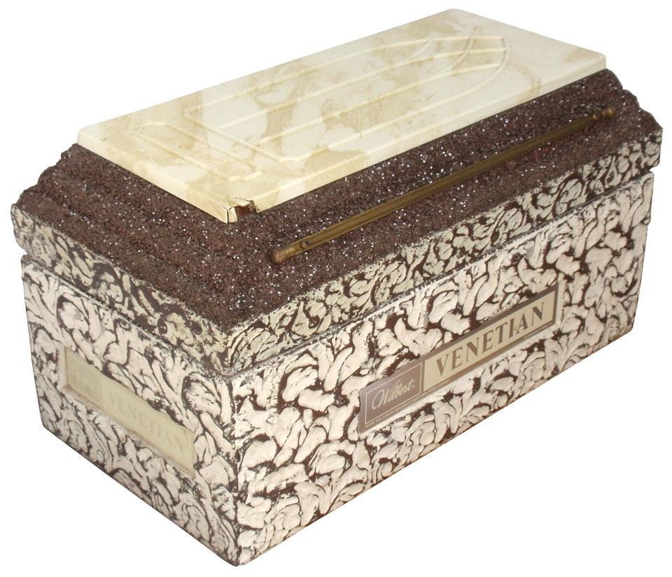 Salesman's sample burial vault, Wilbert
