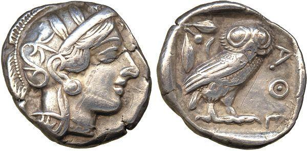 Coins of Ancient Attica