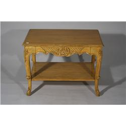 A French Provincial Style Side Table.