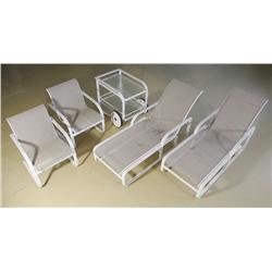 A Brown Jordan Terrace Furniture Set,