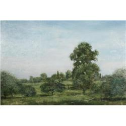 Harry W. Hart (American, 19th/20th Century) Landscape, Oil on canvas,