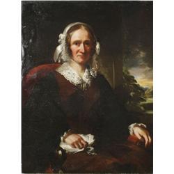 James W. Morris (1860-1890) Portrait of a Lady, Oil on canvas,