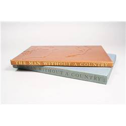 Limited Editions Club Book, The Man Without a Country by Edward Everett Hale, signed by illustrator