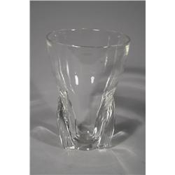A Steuben Glass Vase.