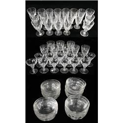 A Set of Maastricht Holland Crystal,