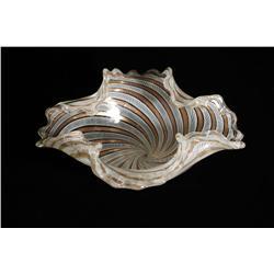 A Venetian Art Glass Bowl.