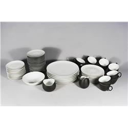 An Assembled Set of Raymond Loewy Porcelain Dinnerware.