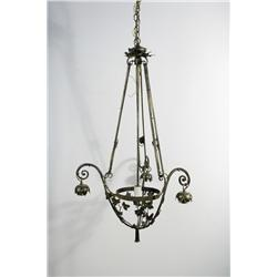 A French Deco Style Chandelier.