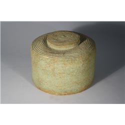 An Indian Coil Basket.