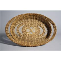 An American Indian Woven Open Basket.