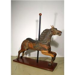 An Early 20th Century Carved Carousel Horse, Attributed to Armitage Herschell.