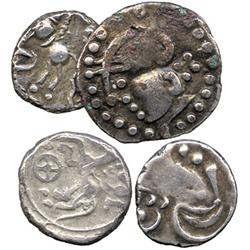 ANCIENT COINS. Greek. Celtic Gaul, Cavares or Allobroges (2nd Century BC), Silver Drachm,