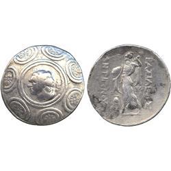ANCIENT COINS. Greek. Kingdom of Macedon, Antigonos Gonatas (277-239 BC), Silver Tetradrac
