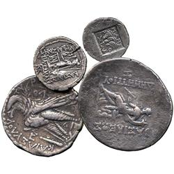 ANCIENT COINS. Greek. Carian Islands, Rhodes (2nd to 1st Century BC), Silver Drachm; Kingd
