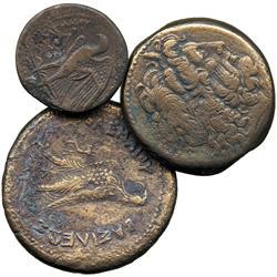 ANCIENT COINS. Greek. Kingdom of Egypt, Ptolemy I (c.304-283 BC), AE 26mm, laureate head o