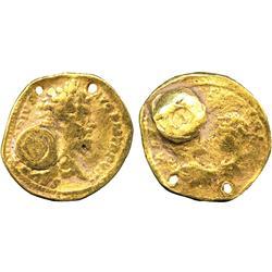 ANCIENT COINS. Roman. Septimius Severus (AD 193-211), Gold Aureus, Indian imitation, SEVER