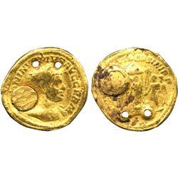 ANCIENT COINS. Roman. Caracalla, Gold Aureus, Indian imitation, [ANT] ONINVS PIVS AVG GERM