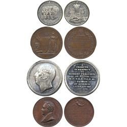 COMMEMORATIVE MEDALS. BRITISH HISTORICAL MEDALS. The Reform Bill, Copper Medal, 1832, by J