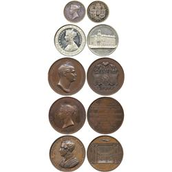 COMMEMORATIVE MEDALS. BRITISH HISTORICAL MEDALS. Victoria, The New Royal Exchange, Foundat