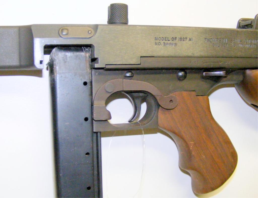 Auto Ordnance Thompson 1927A Tommy Gun in 45ACP