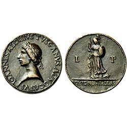 Giovanni Alvise Toscani. Medaglia anteriore al 1477
