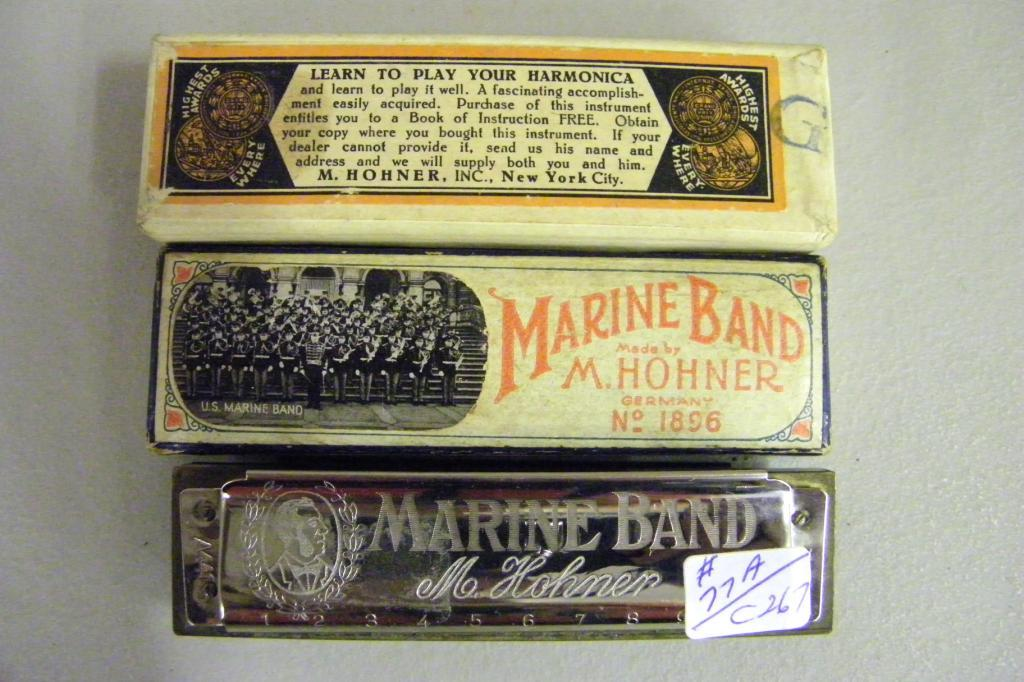 marine band harmonica by m hohner. Black Bedroom Furniture Sets. Home Design Ideas