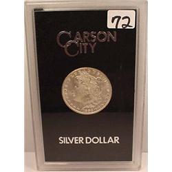 1883-CC CARSON CITY MORGAN SILVER DOLLAR - IN GSA