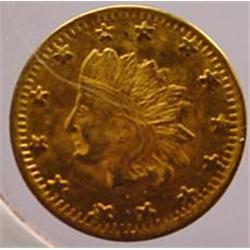 1855 CALIFORNIA GOLD TOKEN