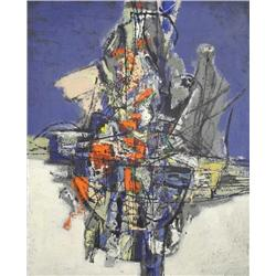 Corneille (1922) Eclosion I, 1957 Oil on Canvas, Titled, Signed and Dated on Verso, 'Eclosion I, Cor