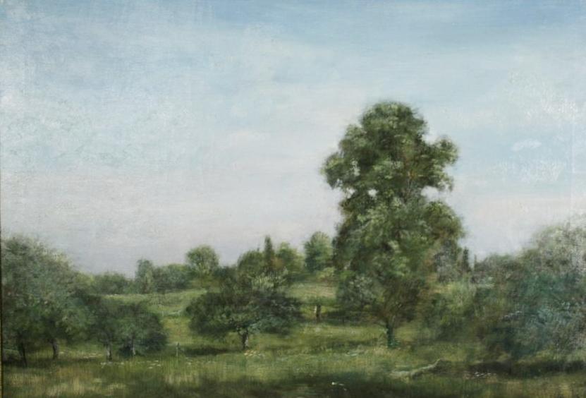 Harry W Hart 19th 20th Century American Landscape Oil On Canvas