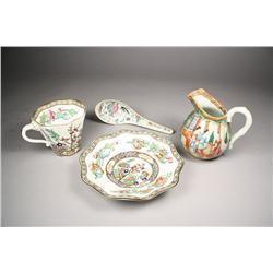 One Coalport Indian Tree Tea Cup and Saucer.