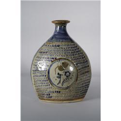 An Earthenware Pottery Vase.