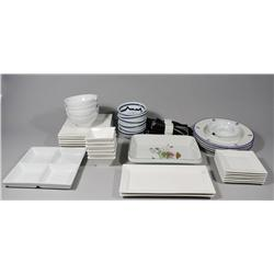 A Collection of Miscellaneous Dinnerware.