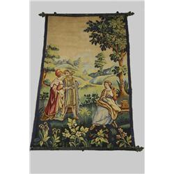A 19th Century French Verdure Tapestry.