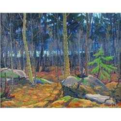 William Parsons Canadian OIP [1909-1982]NORTHERN BUSH, ROCK LAKE, ALGONQUIN PARKoil on board16 x 20