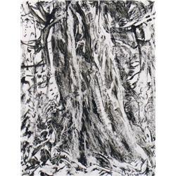 Arthur Lismer Canadian CGP, CSGA, CSPWC, G7, OSA, RCA [1885-1969]TREE TRUNKink and wash on paper7.5