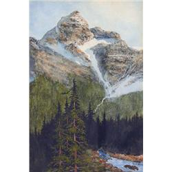 W. T. Wood Canadian [19th/20th century]MT. SIR DONALD, B.C.watercolour and gouache on paper10.5 x 7