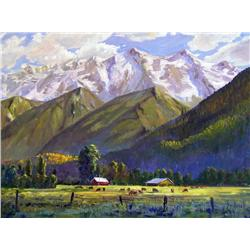 Ron Hedrick Canadian [b. 1942]PEMBERTONoil on canvas30 x 40 in. (76.2 x 101.6 cm)signed & titled