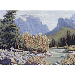 Margaret Dorothy Shelton Canadian ASA, CPE, CSGA [1905-1984]MT. TEMPLEoil on board18 x 24 in. (45.7