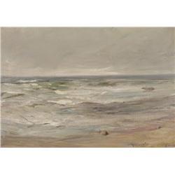 Sir James Lawton Wingate Scottish RSA [1846-1942]MACHRIHANISHoil on canvas14 x 20 in. (35.6 x 50.8 c